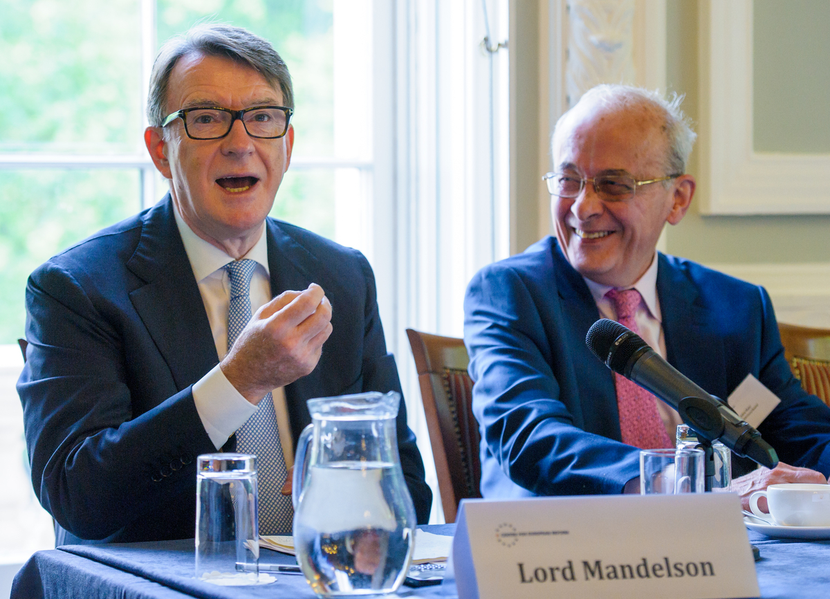 Lord Mandelson and Lord Kerr
