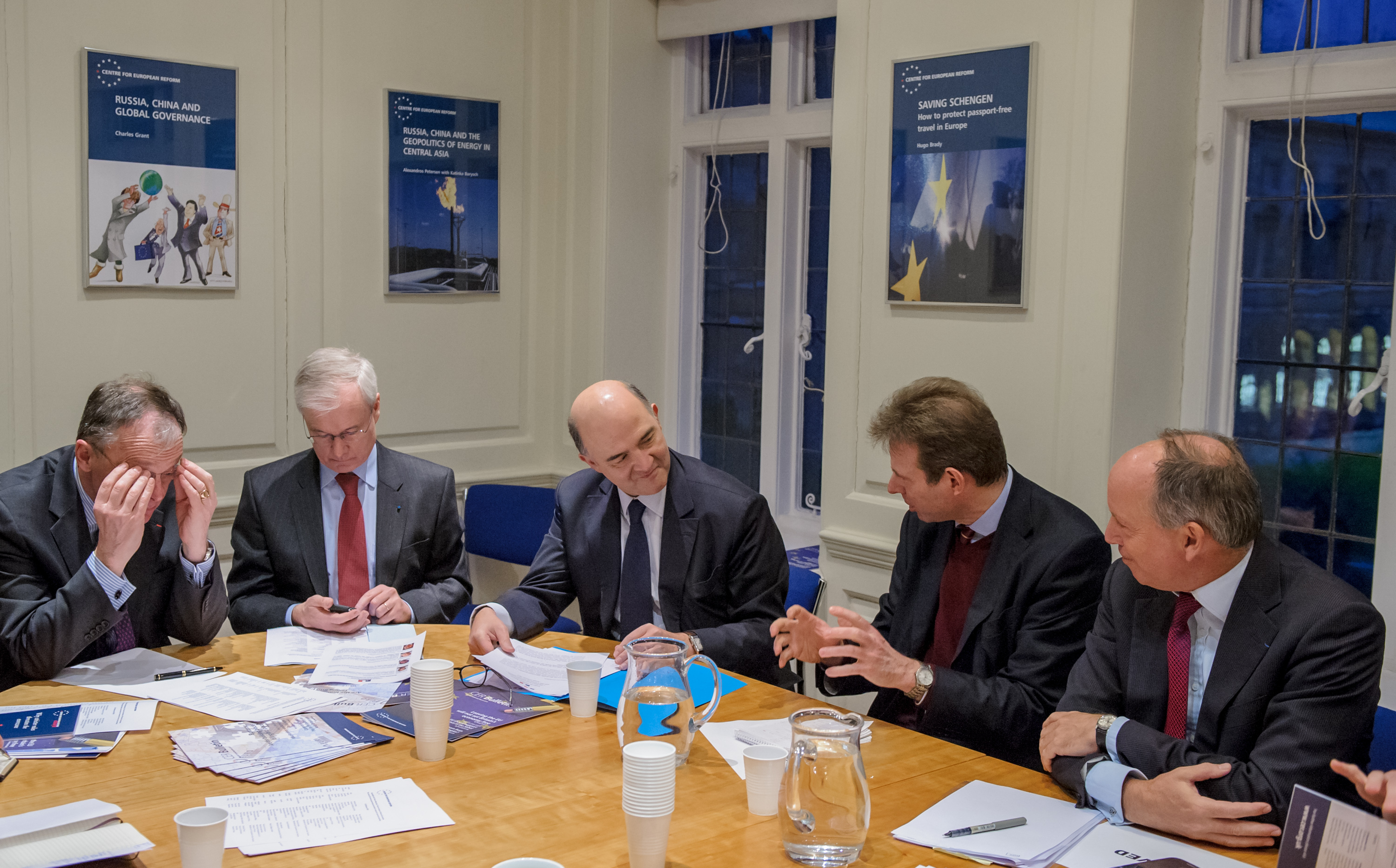 Roundtable with Pierre Moscovici