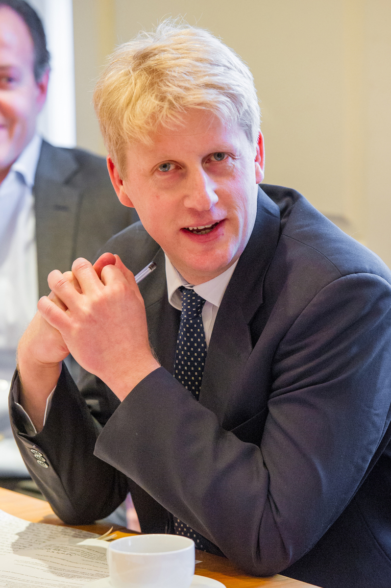Jo Johnson MP, minister of state for Cabinet Office