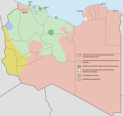 daesh in libya