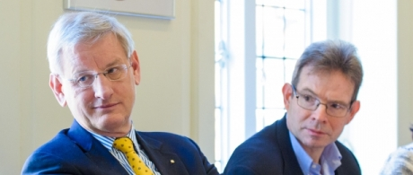 Roundtable with Carl Bildt, Swedish foreign minister