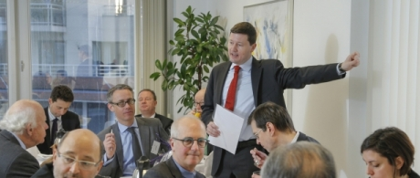 Breakfast with Martin Selmayr, European Commission