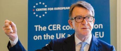 Report launch of the CER Commission on the UK and the EU Single Market