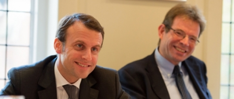 Lunch on 'Reform in France and in the eurozone' with Emmanuel Macron