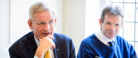 Lunch on 'Russia, Ukraine and the EU' with Carl Bildt, former foreign minister o