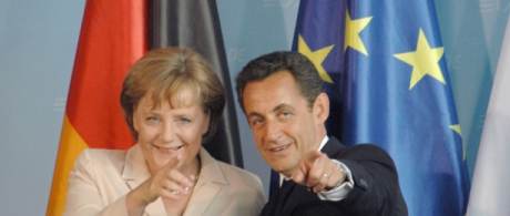 Merkel and Sarkozy forge unlikely - and unequal - partnership