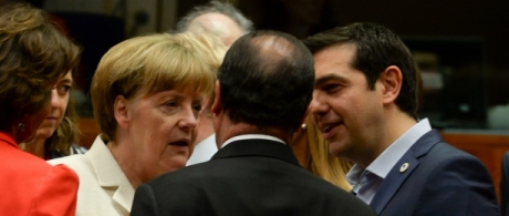 Who was the boss in the Greek talks?