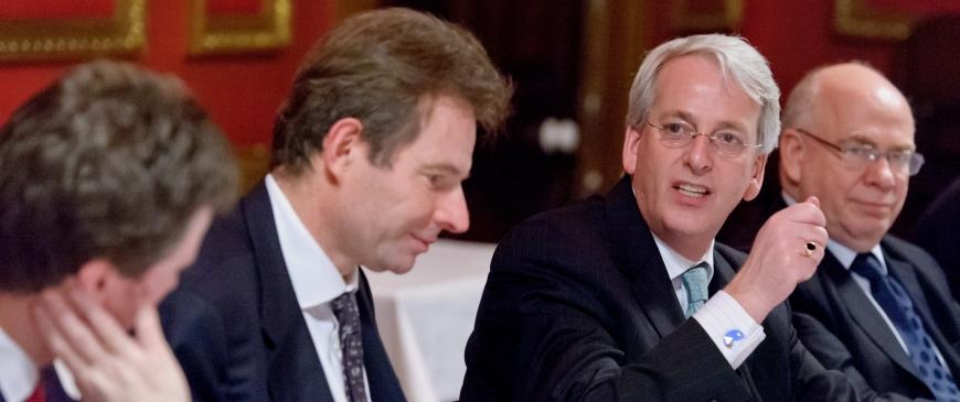 Dinner discussion on NATO with Ambassador Ivo Daalder