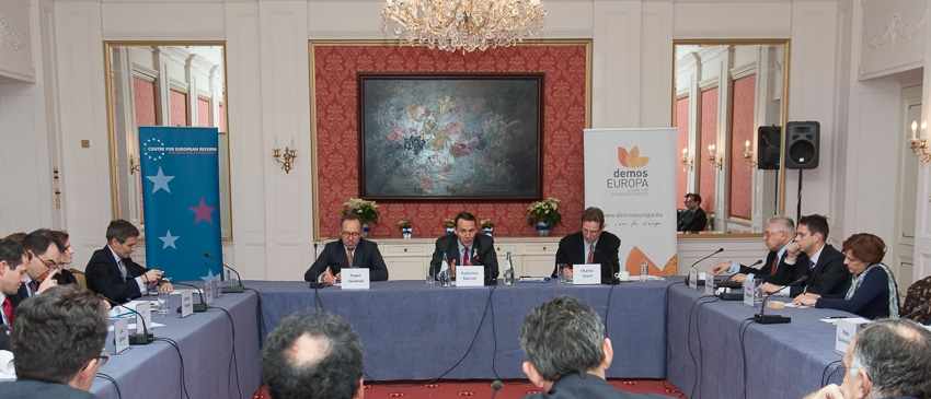 CER/demosEUROPA forum on 'Europe's foreign policy agenda'