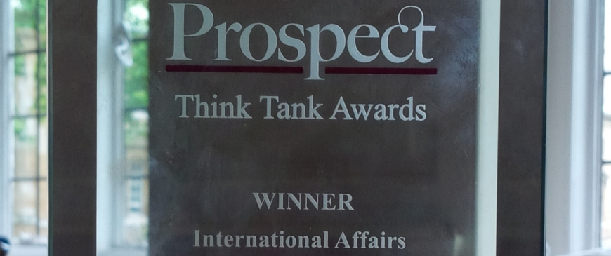 Prospect Think-Tank award