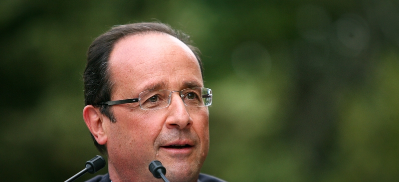 Recession causes grief for Hollande on election anniversary  spotlight image
