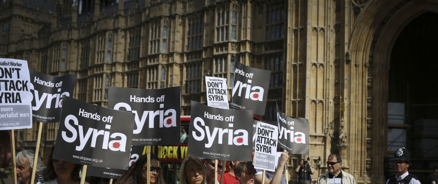 The Commons vote on Syria: The world turned upside down