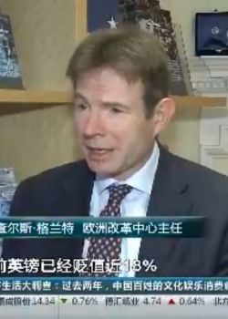 CCTV: Devaluation of the pound