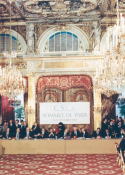 Launch of 'No place for Russia: European security institutions since 1989' with William Hill. Credit: OSCE