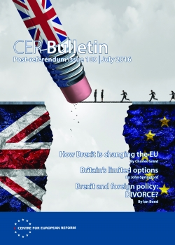 Post-referendum bulletin Issue 109 - July 2016