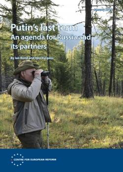 Launch of 'Putin's last term: Taking the long view' with Ian Bond, Igor Yurgens and Kadri Liik