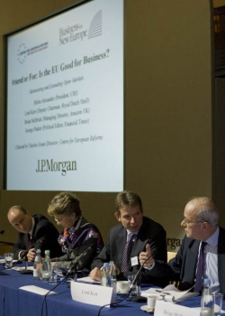 CER/BNE conference on 'Friend or foe: Is the EU good for business?' event thumbnail