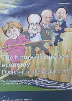 Launch of 'The future for Europe's economy: Disaster or deliverance?' event thumbnail