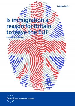 Is immigration a reason for Britain to leave the EU?