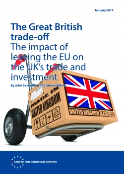The Great British trade-off: The impact of leaving the EU on the UK's trade and