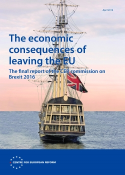 The economic consequences of leaving the EU: The final report of the CER commission on Brexit 2016
